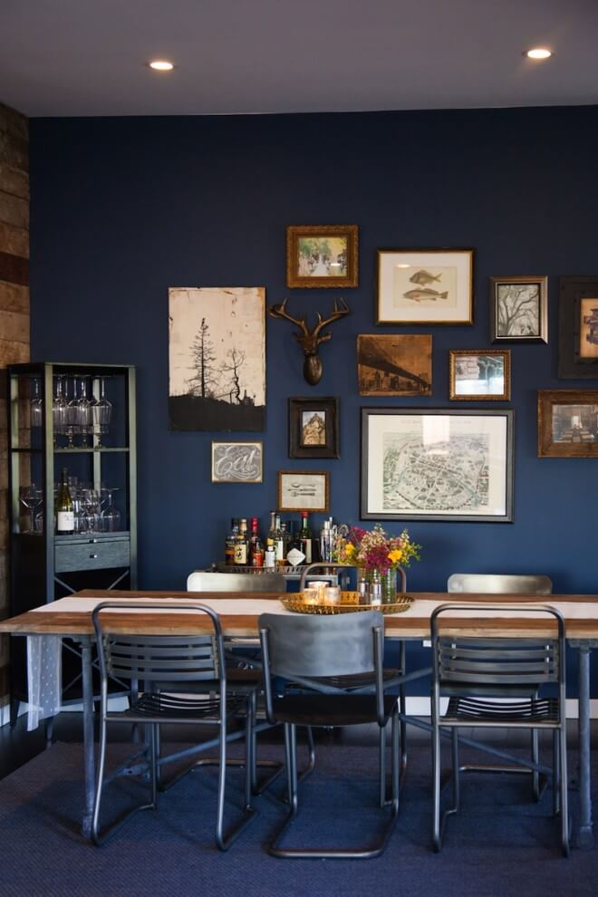 large dining room wall decor