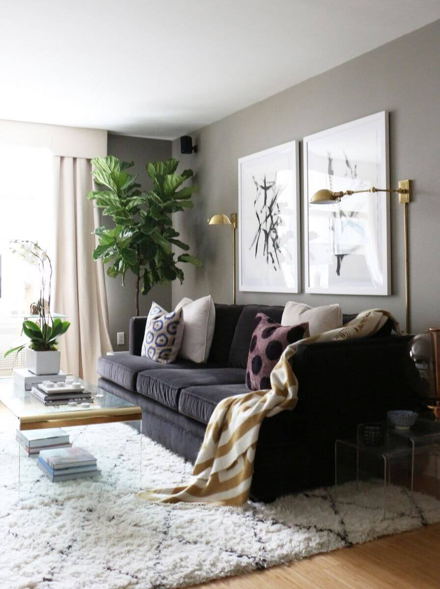 living room wall art decor