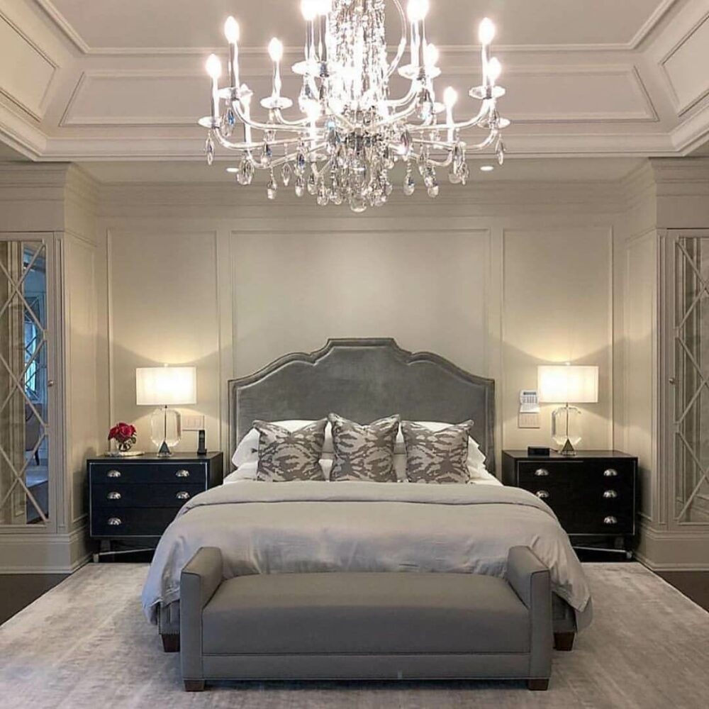 master bedroom crown molding ideas