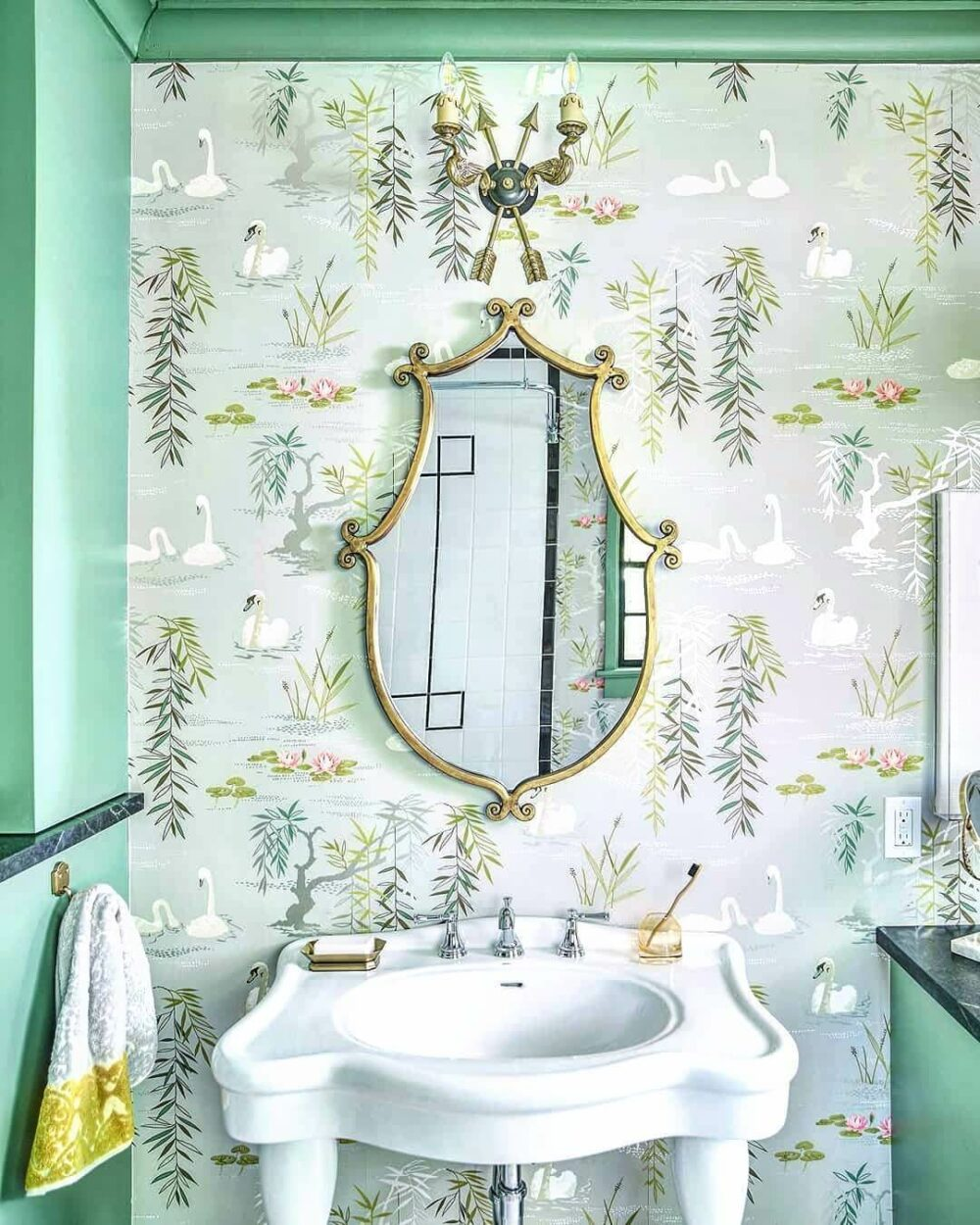 mermaid bathroom wall decor