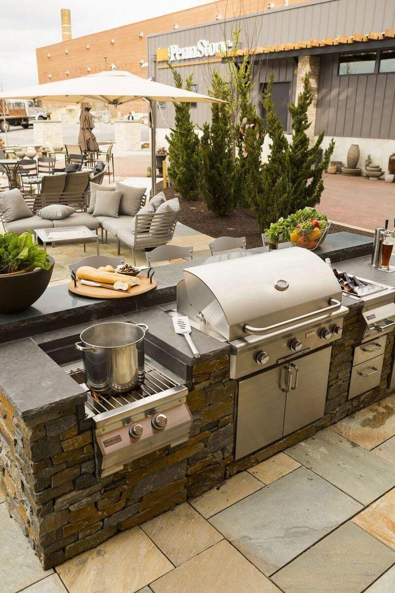 outdoor kitchen grill ideas