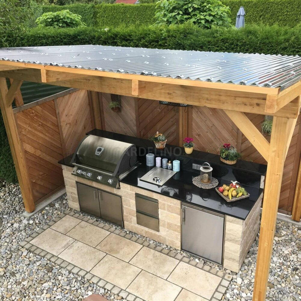 outdoor kitchen ideas cheap