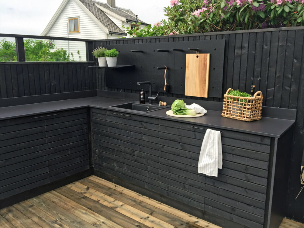 outdoor kitchen sink ideas