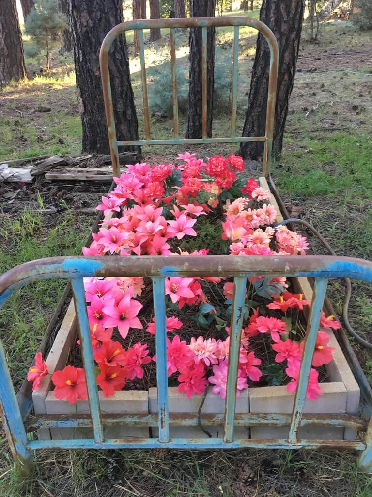 raised flower bed ideas pictures