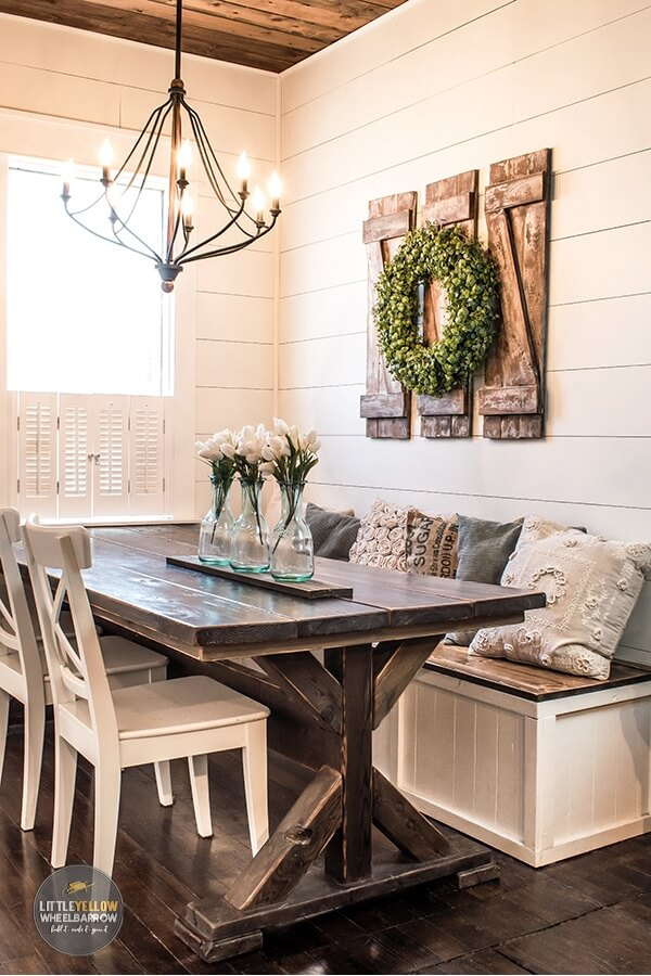 rustic dining room wall decor ideas