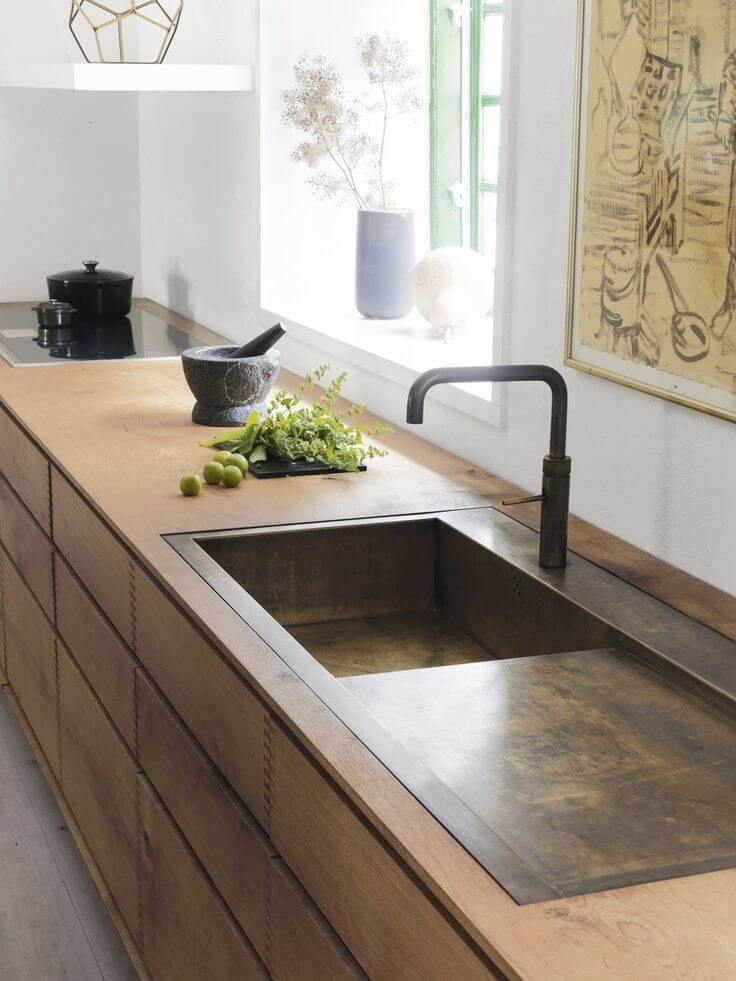 rustic kitchen sink ideas