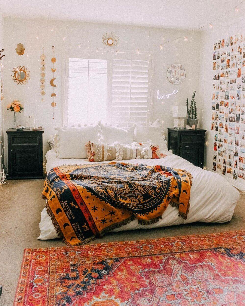 shabby chic bedroom wall decor