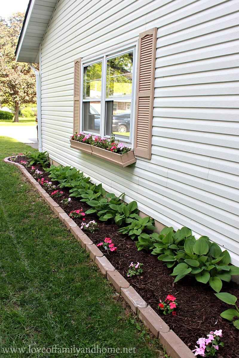 side house flower bed ideas