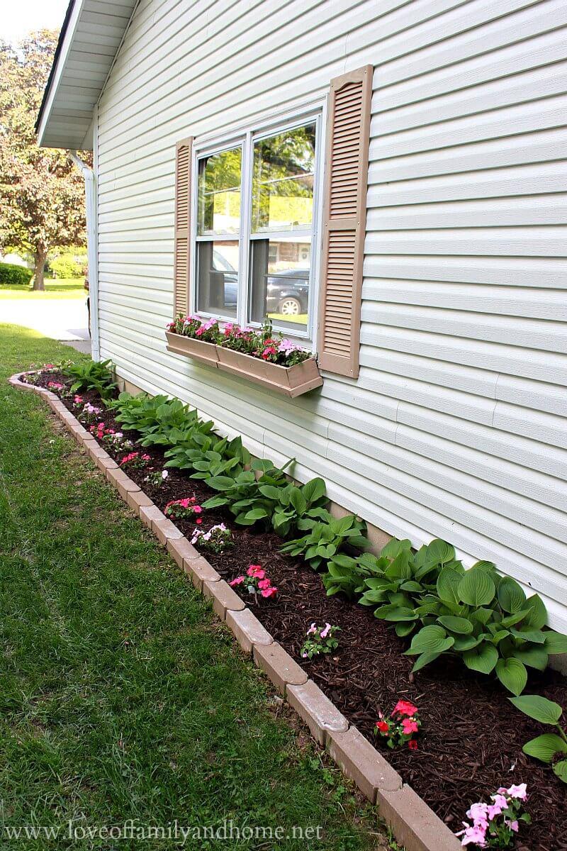 side house flower bed ideas