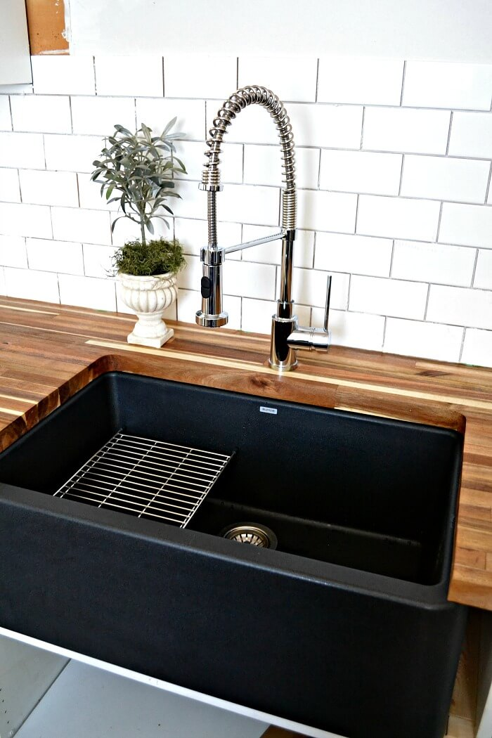 sink ideas for small kitchen