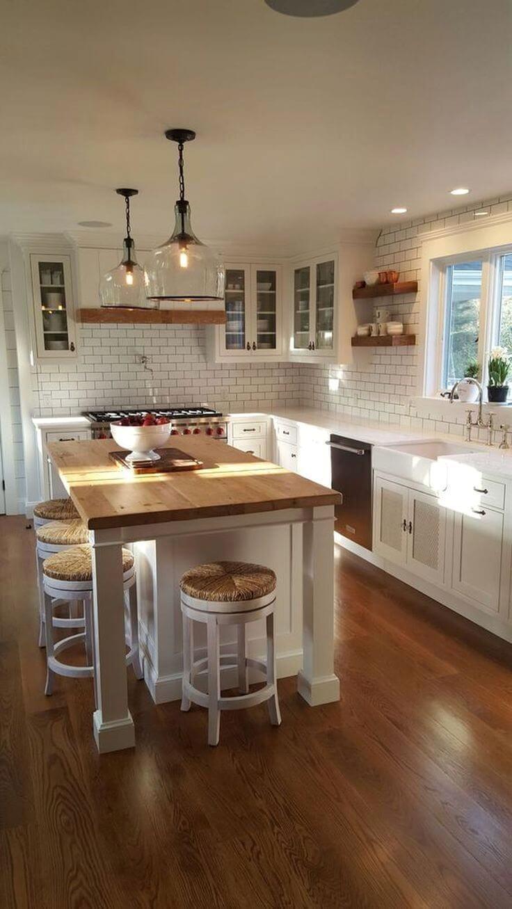 small space kitchen island ideas