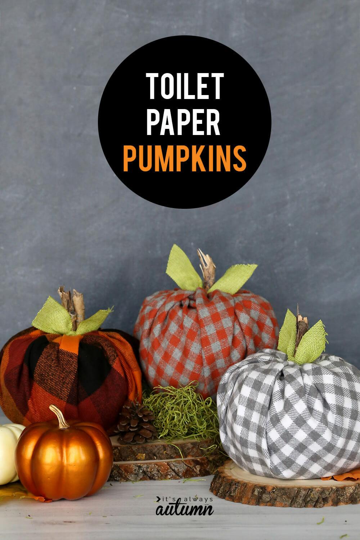 toilet paper roll crafts halloween