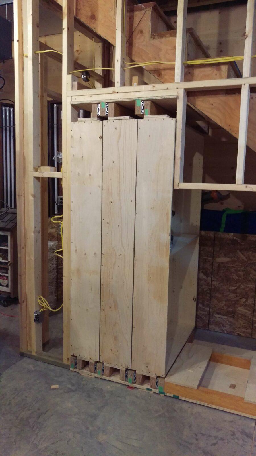 under stair storage design