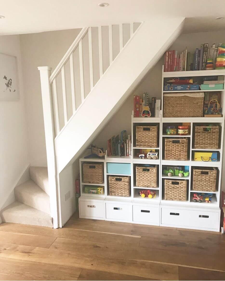 under stair storage kits