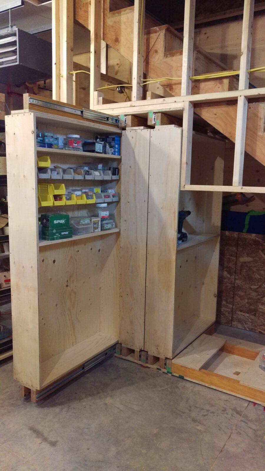 under stair storage pinterest