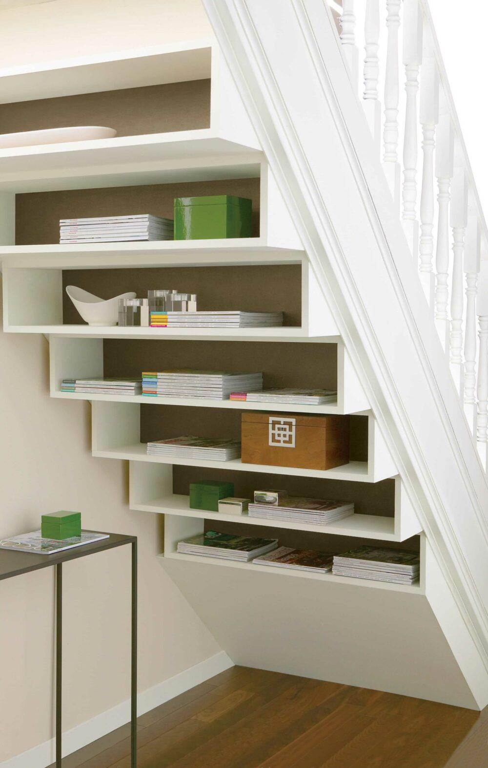 under stair storage plans