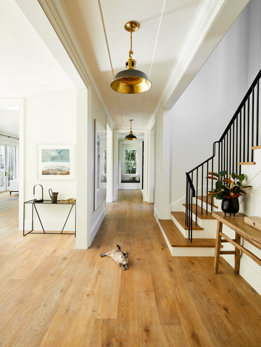 upstairs hallway lighting ideas