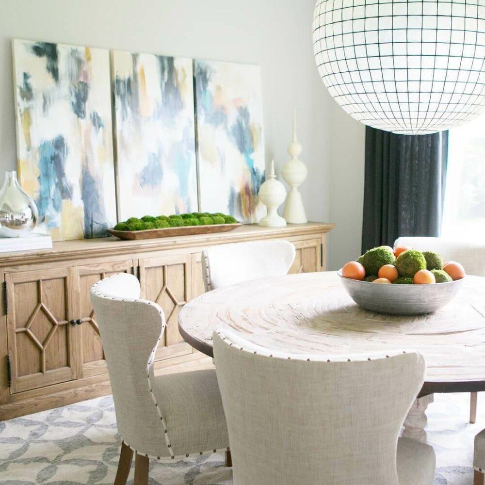 vintage dining room wall decor