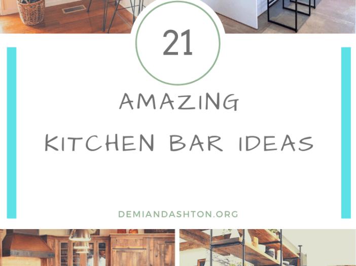 Amazing Kitchen Bar Ideas