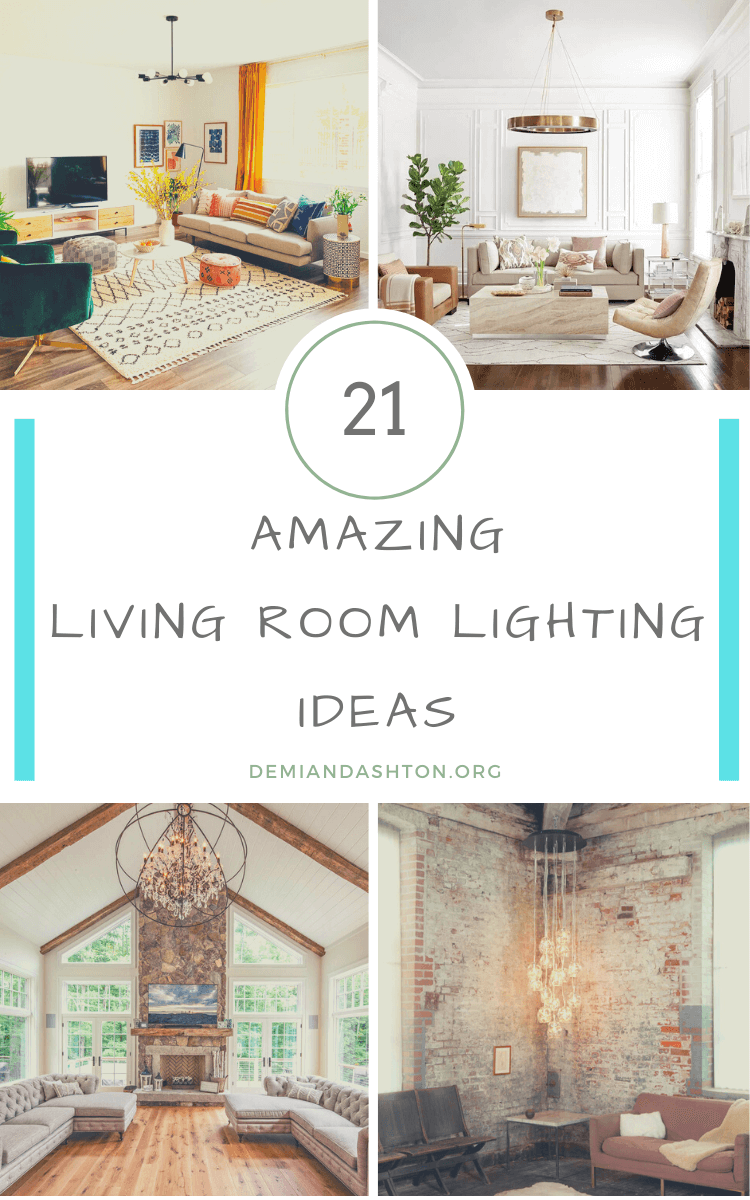 Amazing Living Room Lighting Ideas