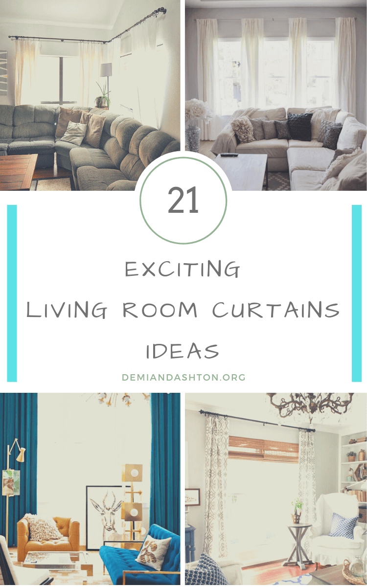 Exciting Living Room Curtains Ideas