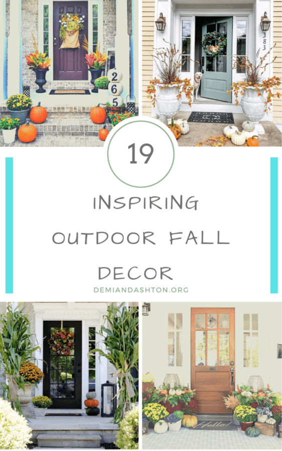 Inspiring Outdoor Fall Decor