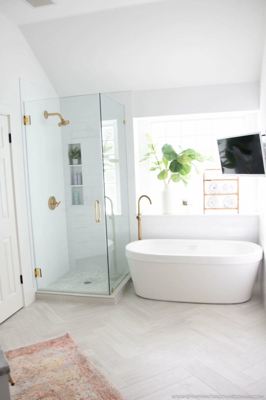bathroom ideas tub and shower