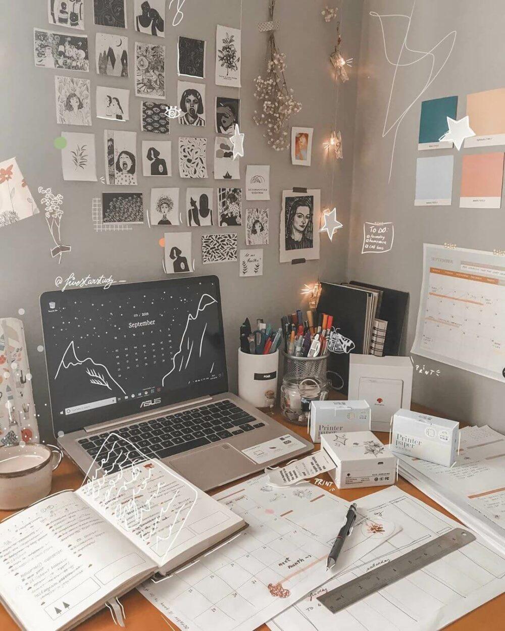 cheap study room ideas