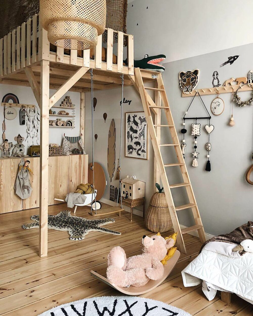 childrens loft bed ideas