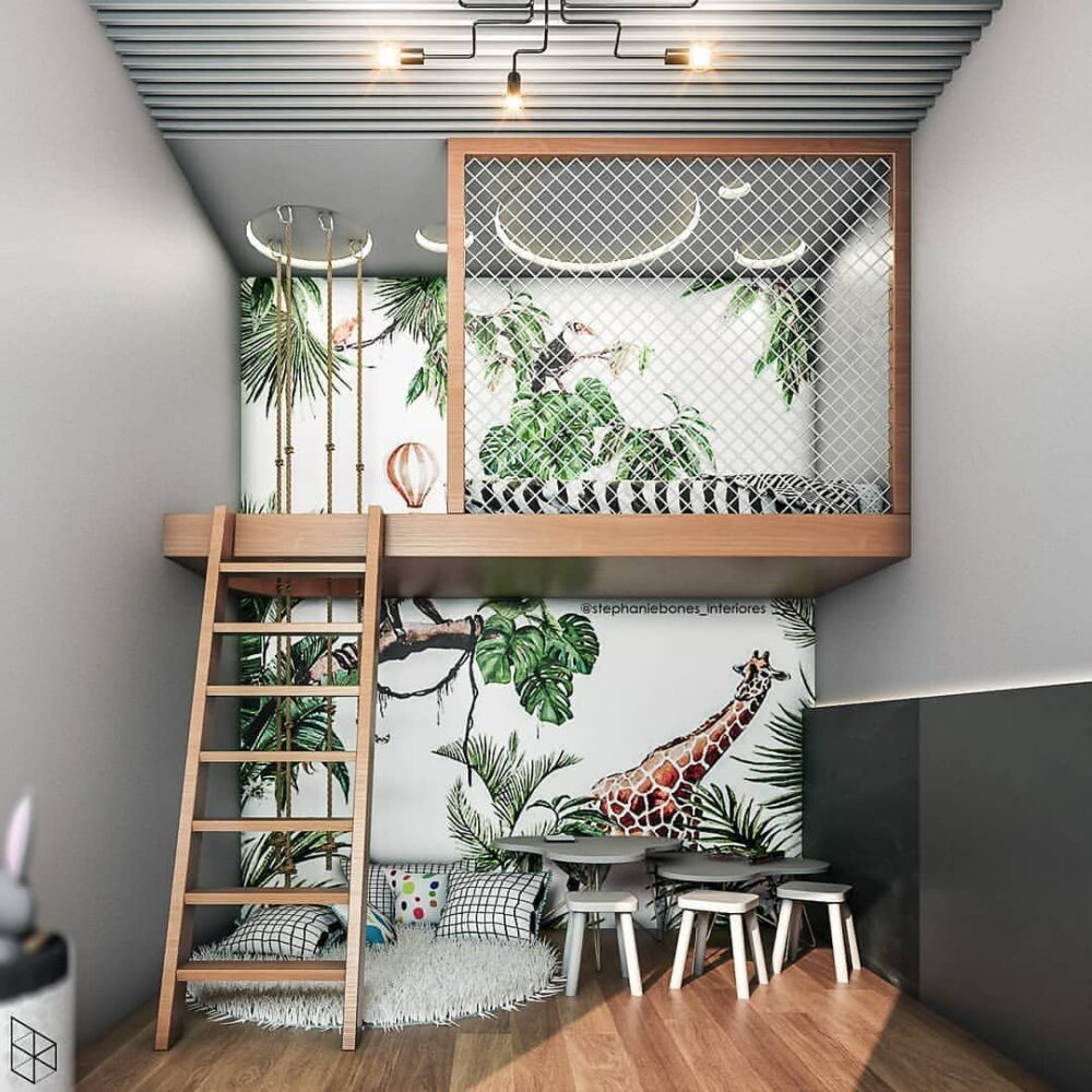creative loft bed ideas