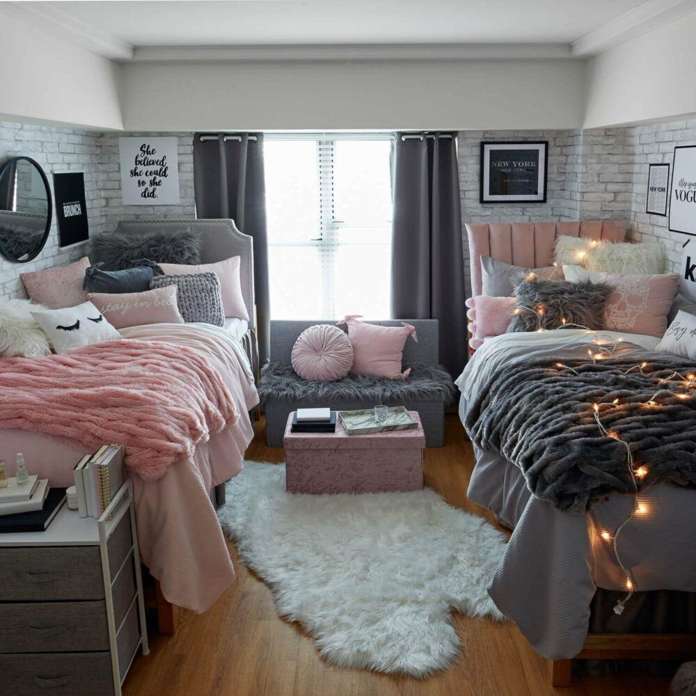decorated dorm room ideas