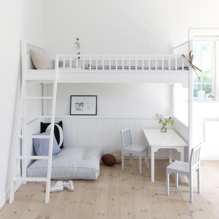 dorm room loft bed ideas