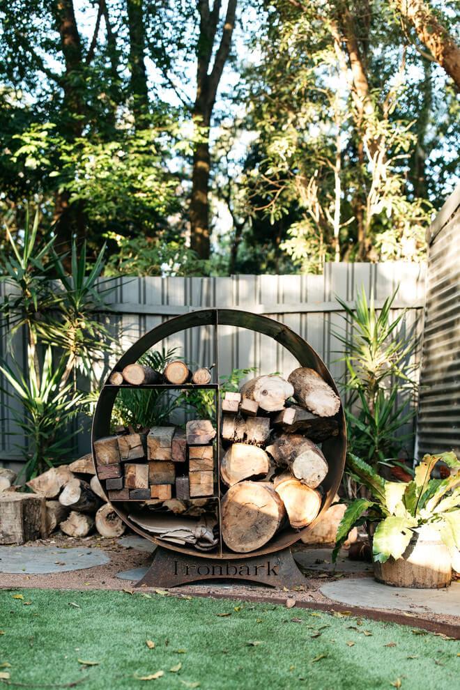 firewood storage ideas outside