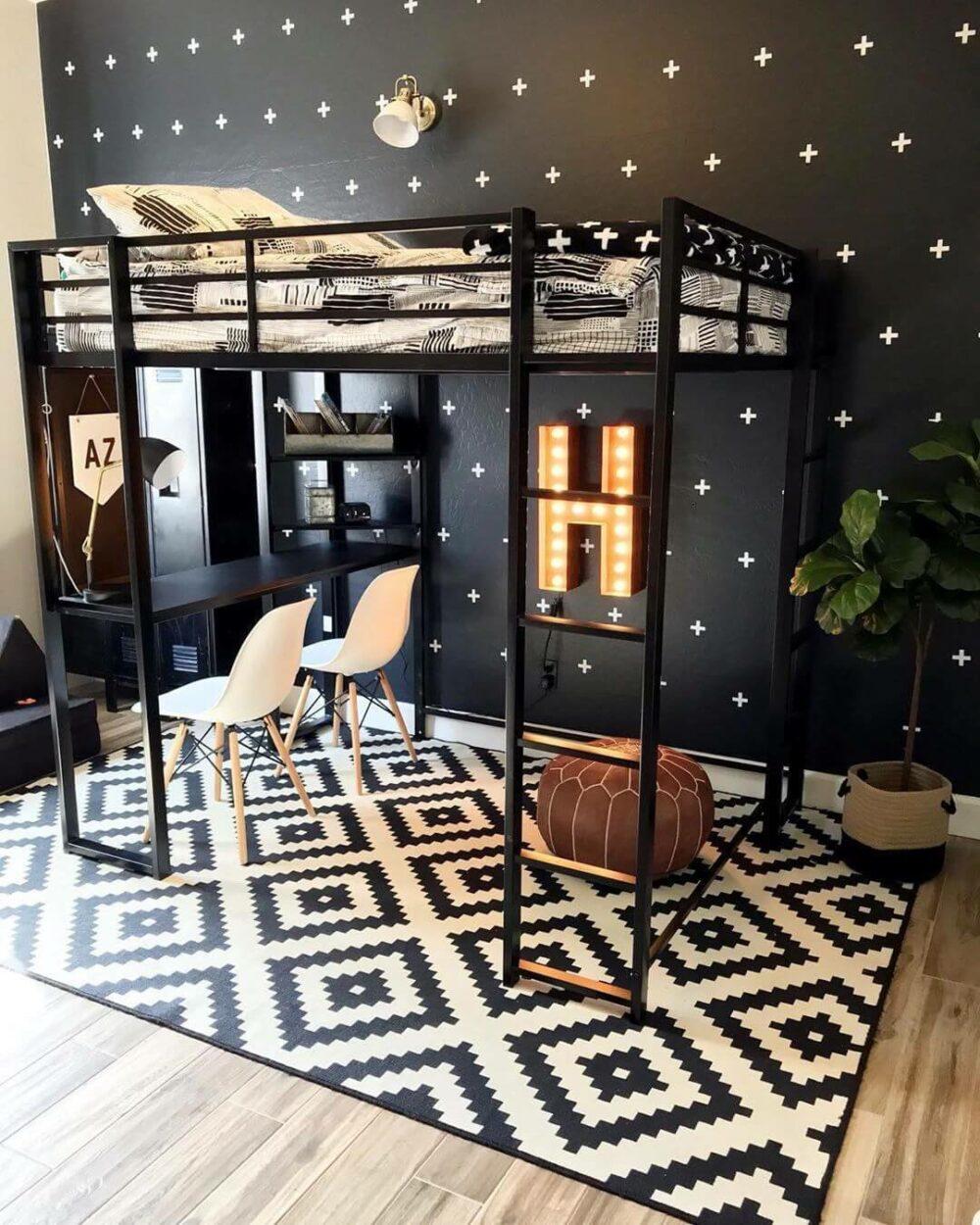 full size loft bed ideas