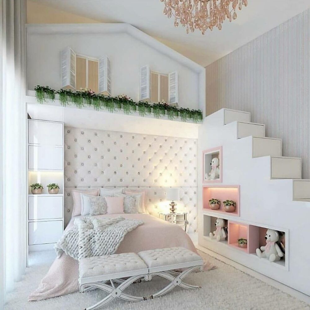 girl loft bed ideas