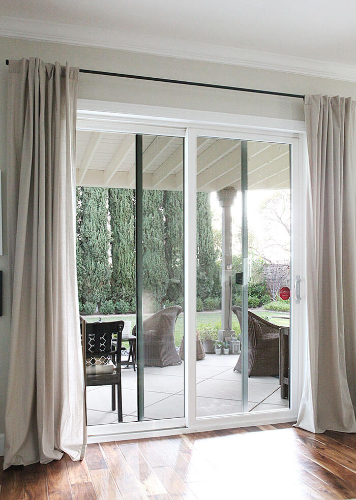 ideas for living room curtains decor