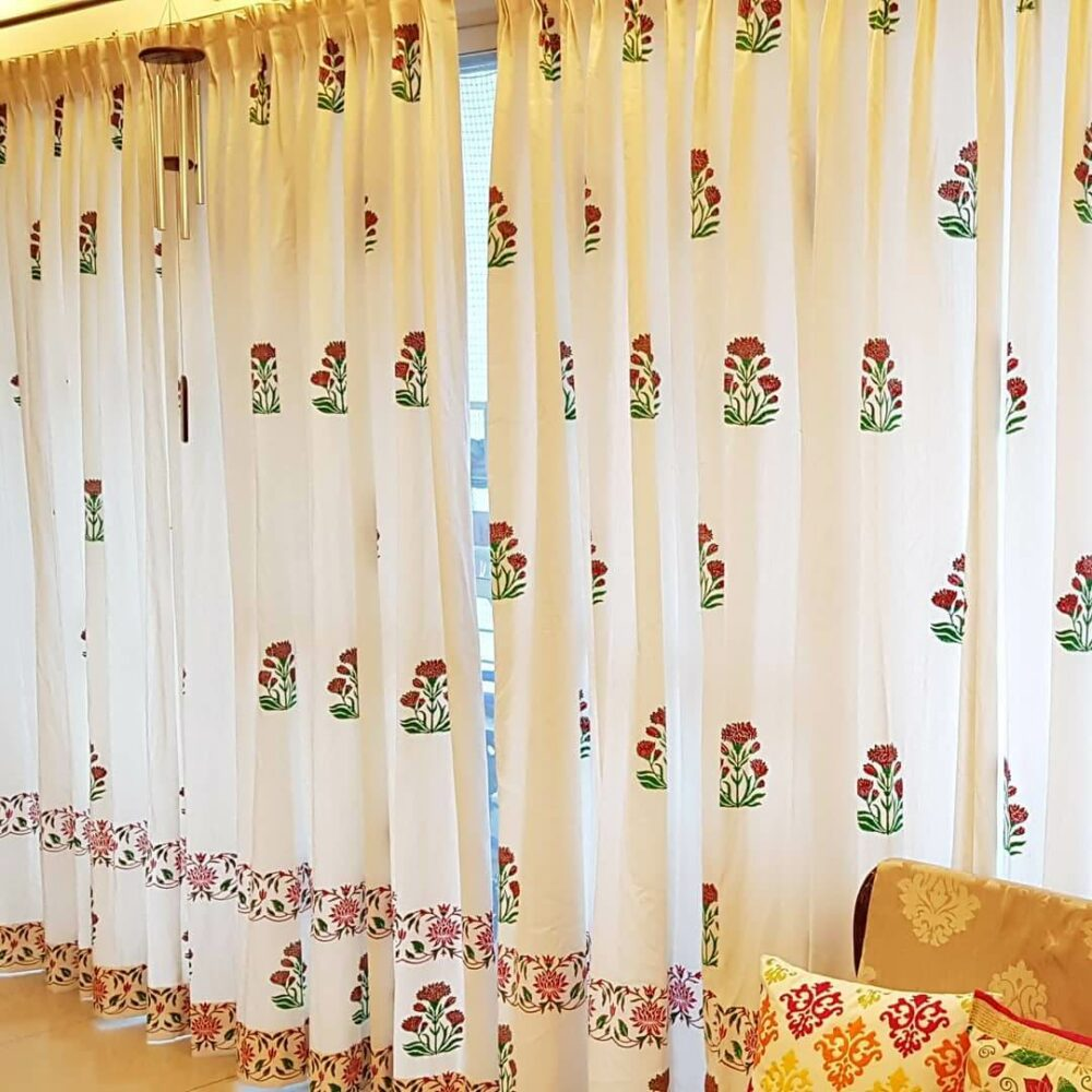interior design ideas for living room curtains
