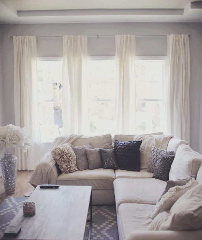 living room curtains decorating ideas
