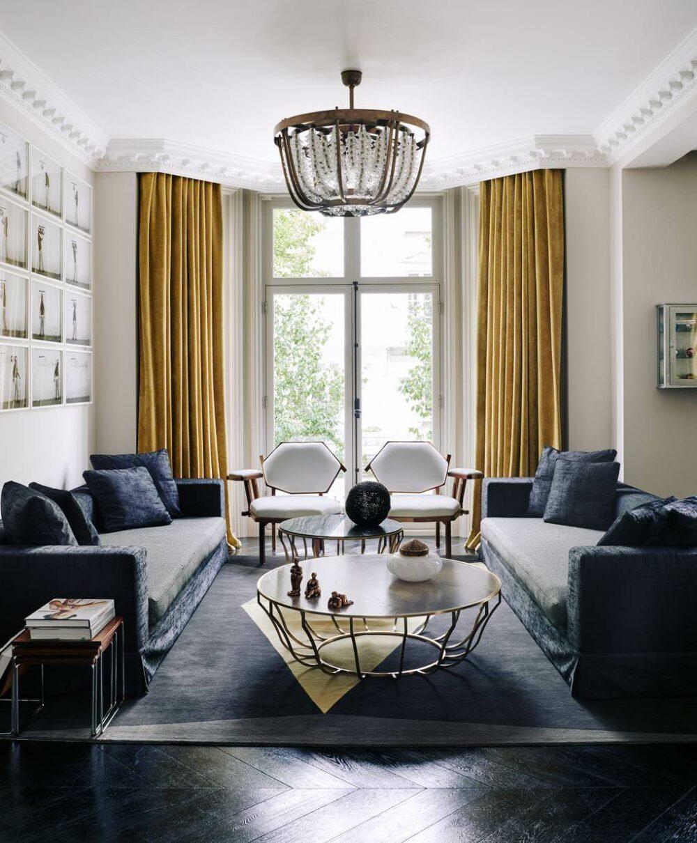 living room curtains design ideas