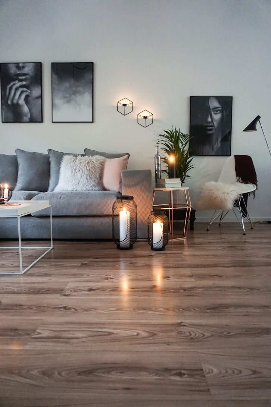 living room floor lighting ideas