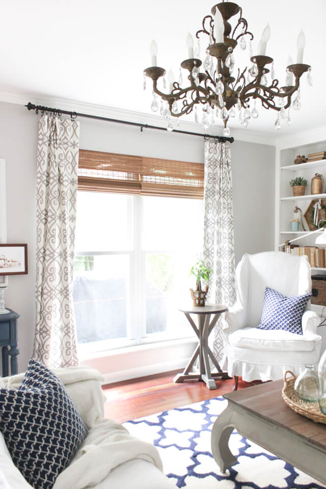 living room ideas with curtains