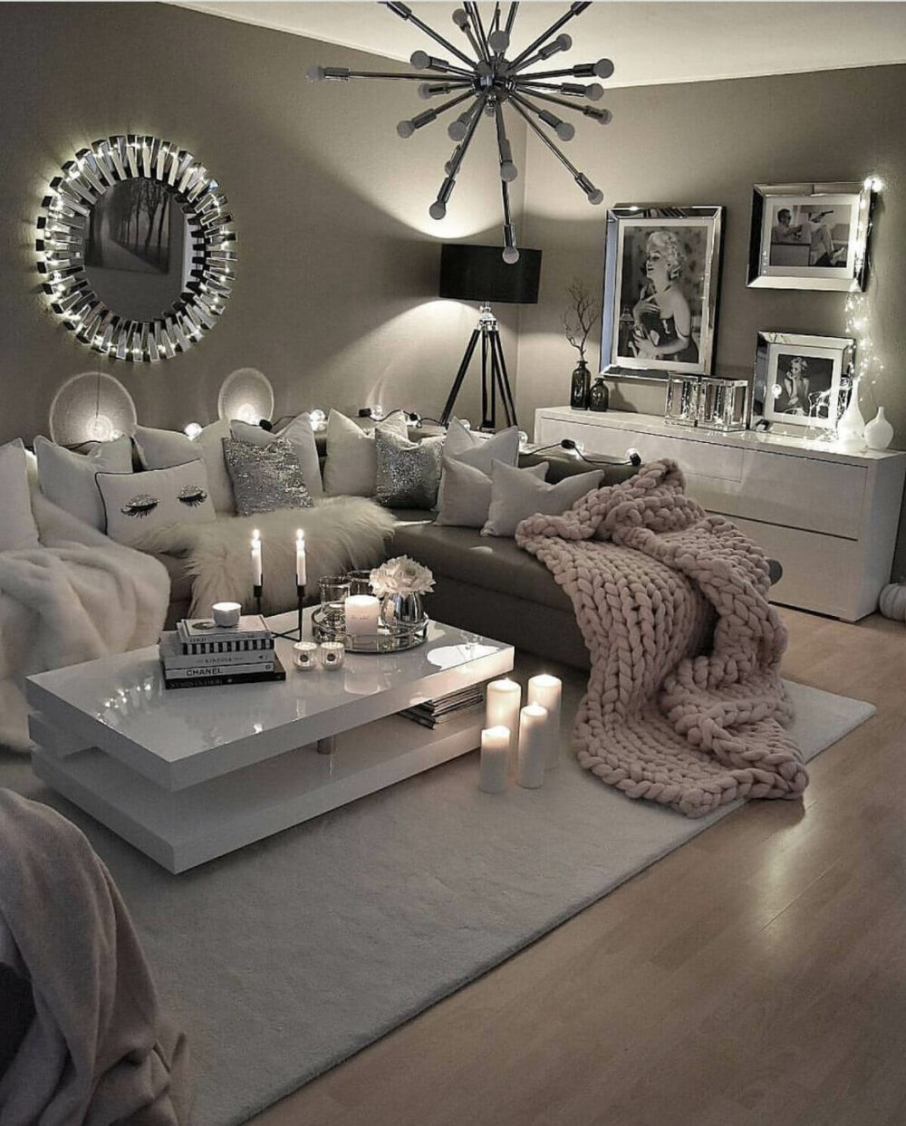 living room lighting fixture ideas