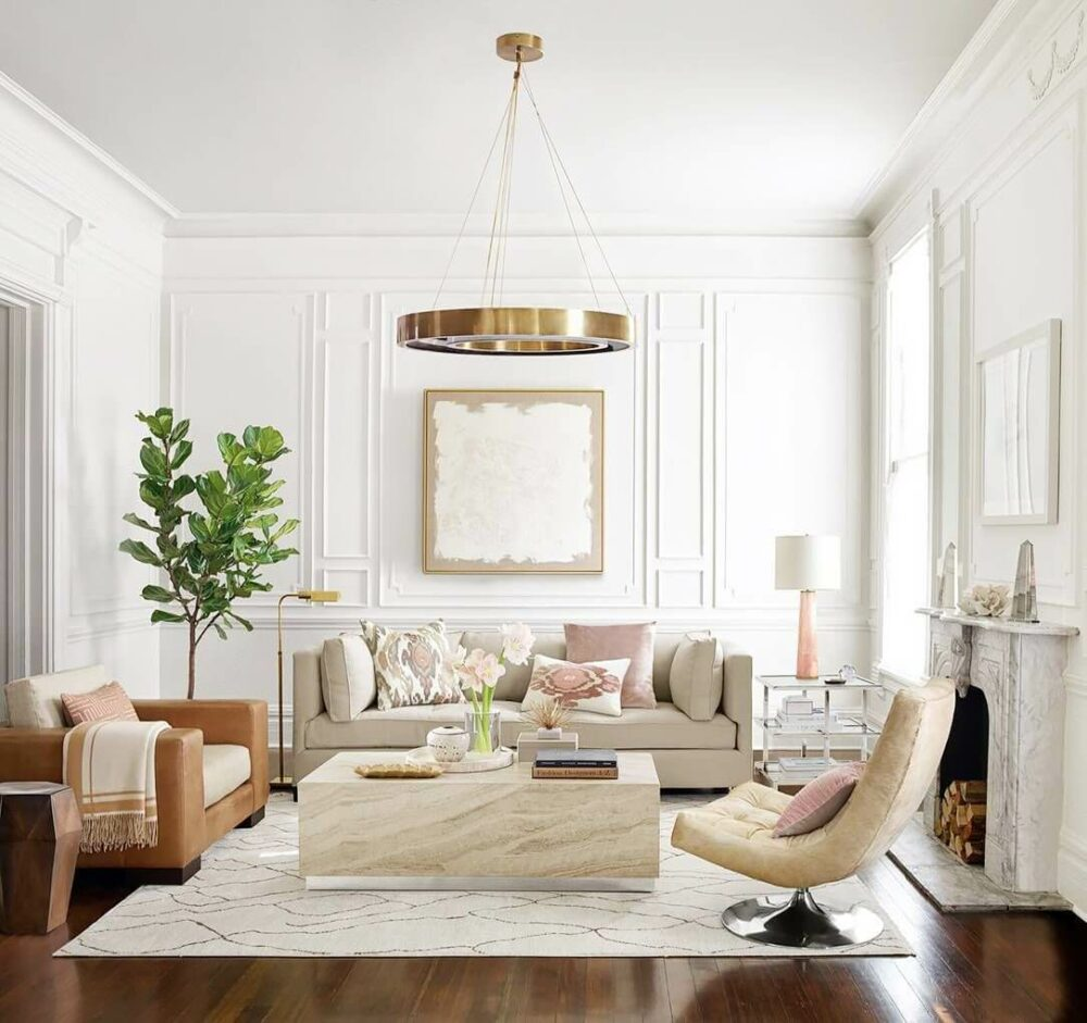 living room recessed lighting ideas