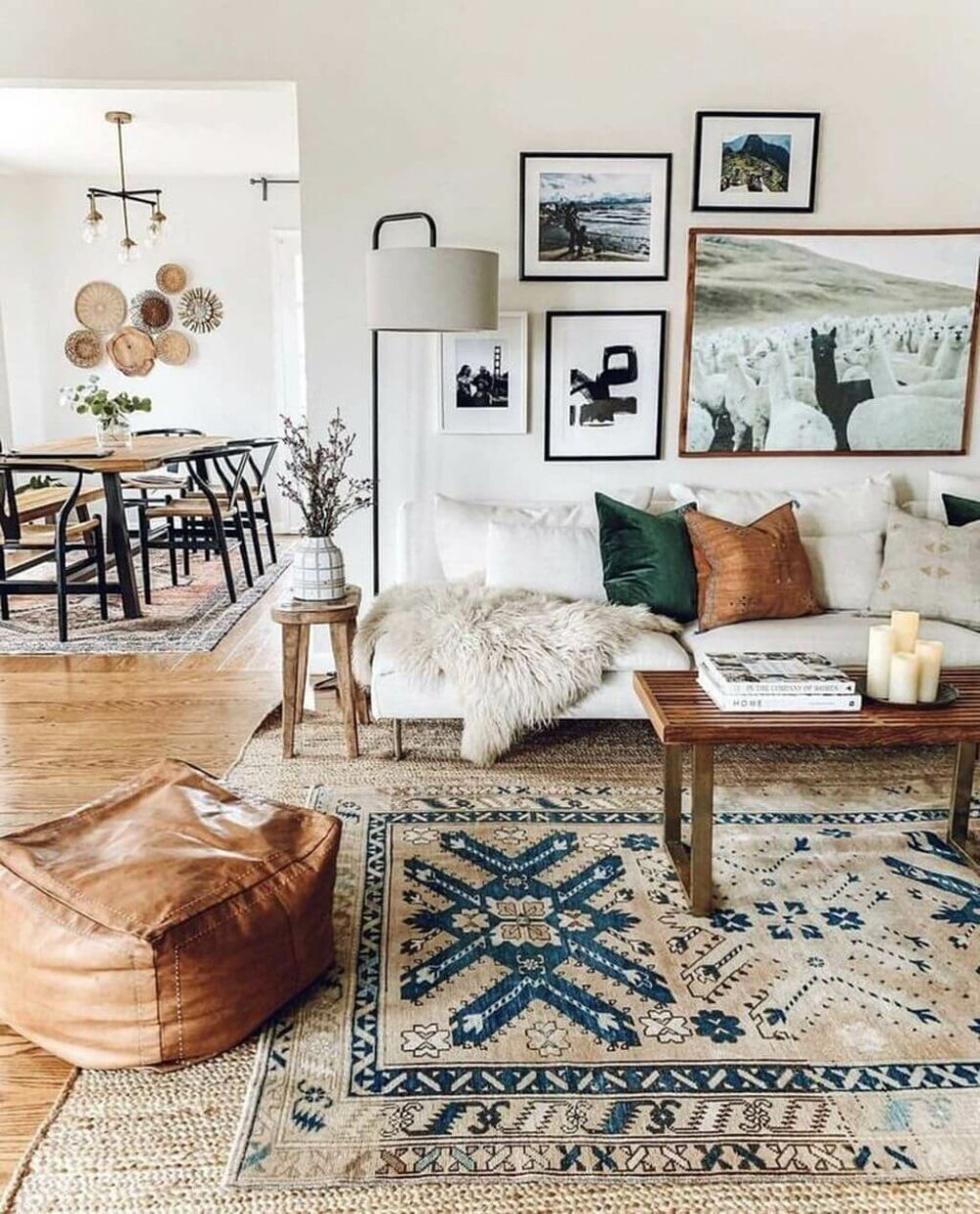 living room rug decorating ideas