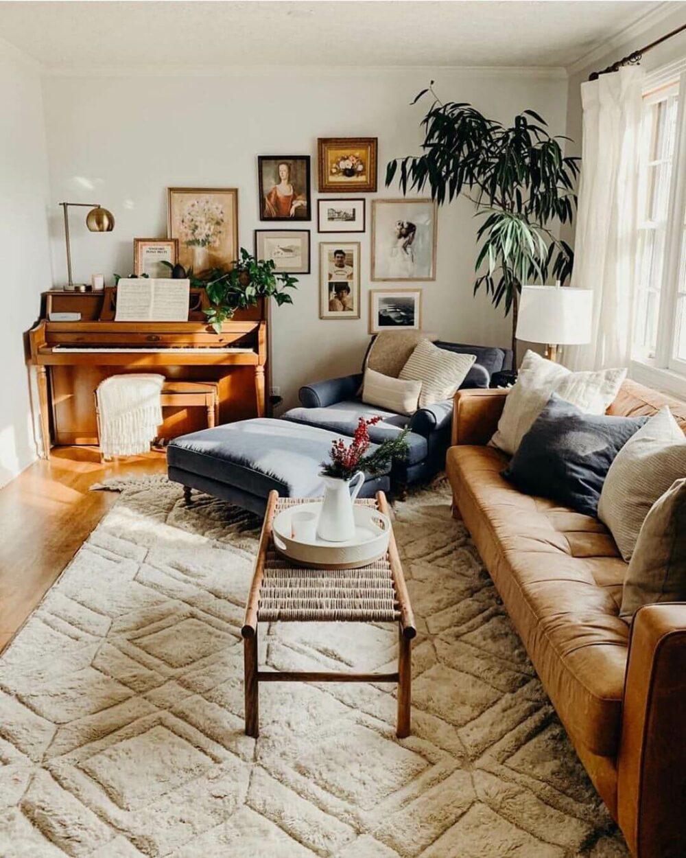 living room rug design ideas