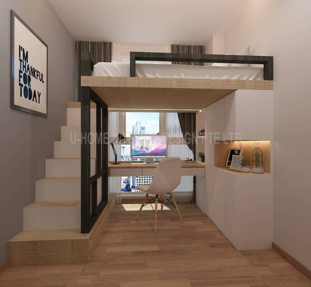 loft bed ideas adults