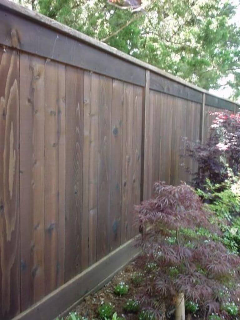 modern wooden fence ideas