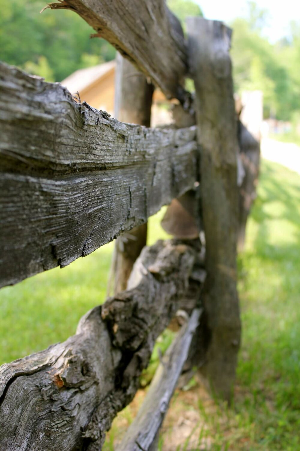 old wooden fence ideas
