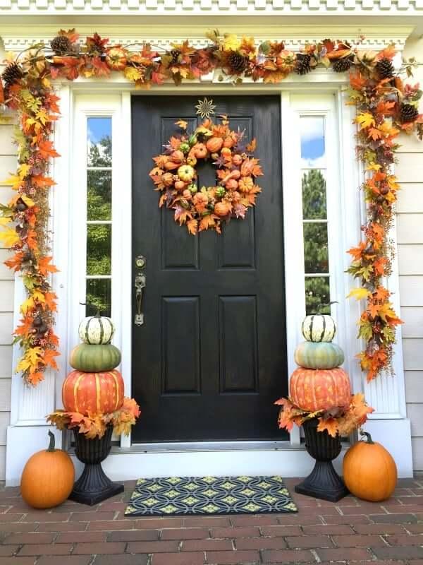 outdoor fall decor ideas pinterest