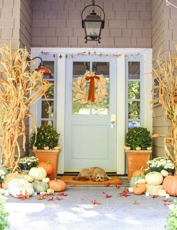 outdoor fall decor images